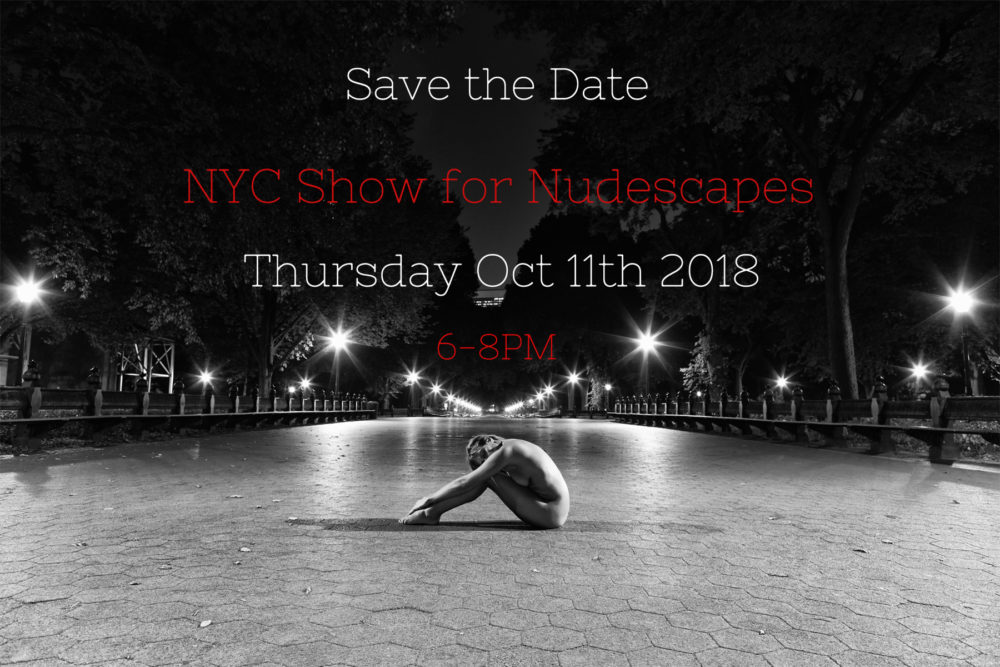 NYC Solo Show For Nudescapes